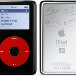 iPod 5th Generation U2